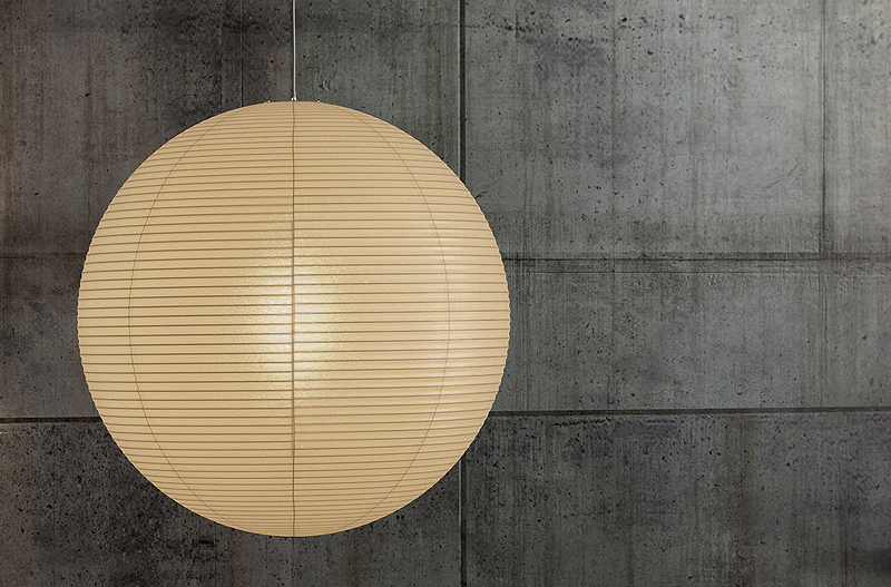 posts is at noguchi lamps lights s paper surrounding and akari object lessons globe available the wide isamu remodelista rice floor lamp iconic tall inches it