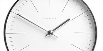AMEICO | MAX BILL WALL CLOCK LINES