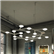 Led Net Circle Pendant Lamp