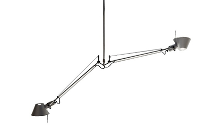 ARTEMIDE | TOLOMEO DOUBLE SUSPENSION LAMP