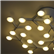 Led Net Circle Ceiling Lamp