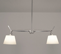 Artemide Tolomeo Double Suspension - Shade