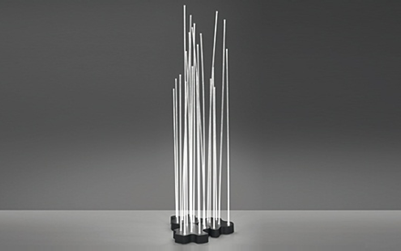 ARTEMIDE OUTDOOR | REEDS FLOOR LED LAMP