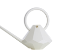 Garden Glory Diamond Watering Can - White
