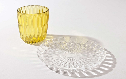 KARTELL | JELLY VASE AND TABLE CENTER PLATE
