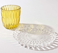 Kartell Jelly Vase and Table Center Plate