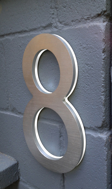 Modern 10 House Address Numbers Luxello
