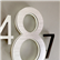Modern 16 Lighted LED House Numbers