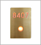 Luxello Illuminated Signage Bronze