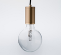 Luxello Purity LED Brass Pendant