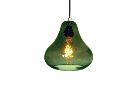 LUXELLO | KISS PENDANT LIGHT - OLIVE GLASS