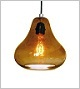 Luxello Amber Kiss Pendant Light