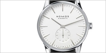 MODERN WATCHES | NOMOS ZURICH AUTOMATIC WATCH