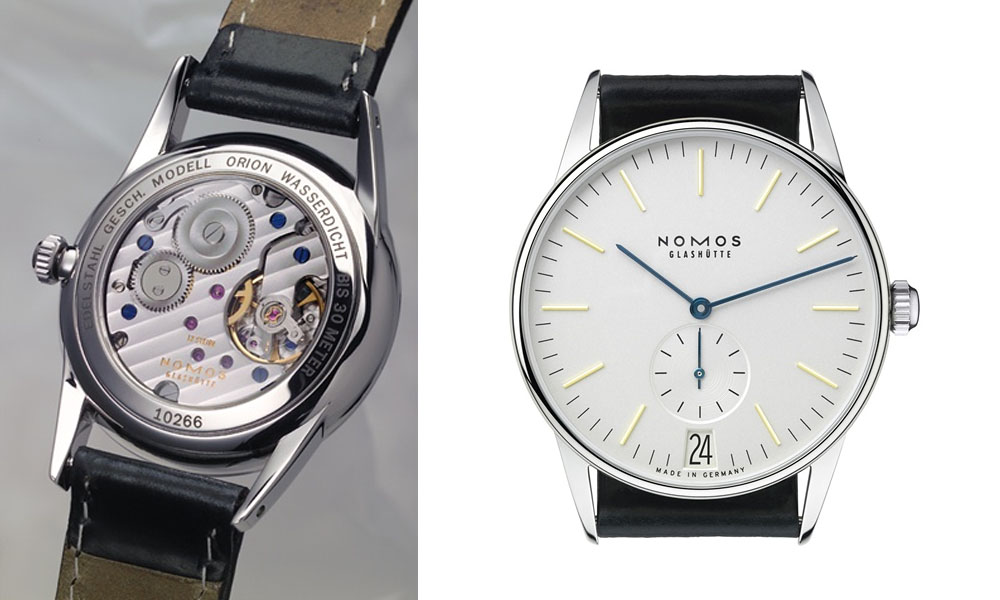Nomos Orion 38 Watch Review - YouTube