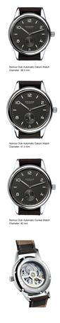 Nomos Club Automatic Datum Dunkel Watch
