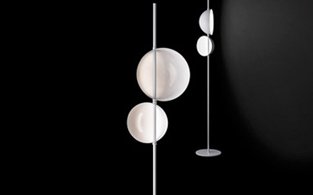OLUCE | SUPERLUNA FLOOR LAMP