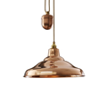 Original BTC Rise & Fall School Pendant Lamp