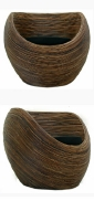 DONUT RATTAN LOUNGE CHAIR