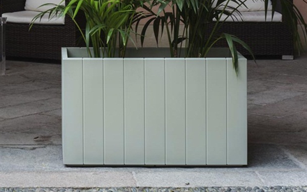SERRALUNGA | FENCE OUTDOOR POT
