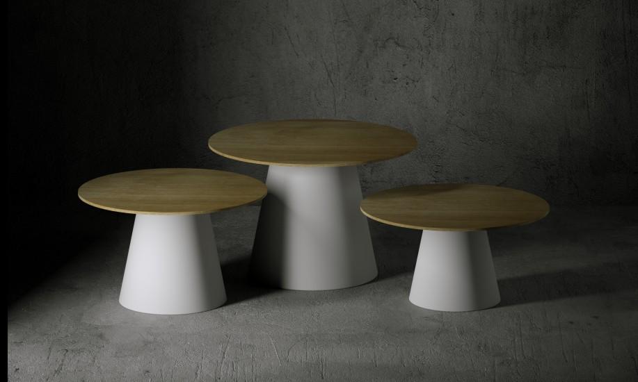 Lou lou outdoor round table serralunga furniture for Serralunga furniture