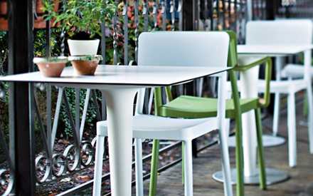 SERRALUNGA FURNITURE | PILE UP OUTDOOR TABLE
