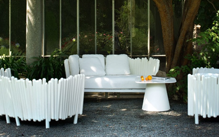 SERRALUNGA FURNITURE | CANISSE OUTDOOR SOFA