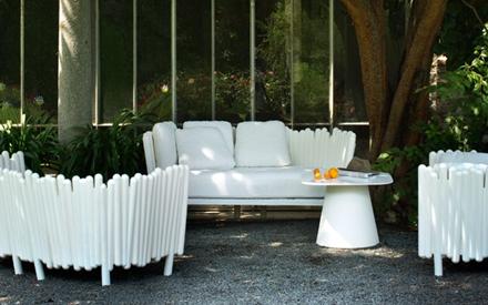 Canisse outdoor sofa serralunga furniture for Serralunga furniture