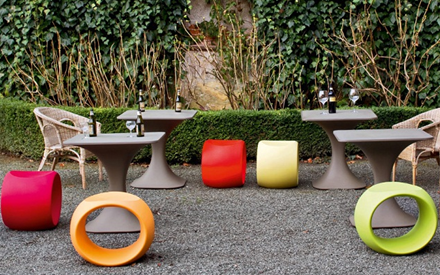 SERRALUNGA FURNITURE | CERO OUTDOOR STOOL