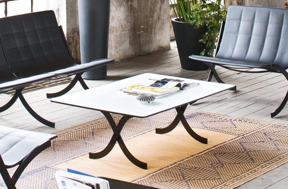 Barcelonina front table serralunga furniture for Serralunga furniture