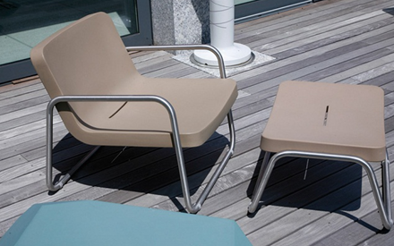 SERRALUNGA FURNITURE | TIME OUT OUTDOOR CHAIR