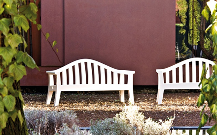SERRALUNGA FURNITURE | GIULIETTA OUTDOOR BENCH