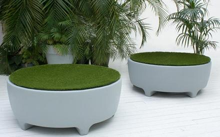 Oasis poufe serralunga furniture for Serralunga furniture