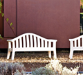 Serralunga Furniture Giulietta Outdoor Bench