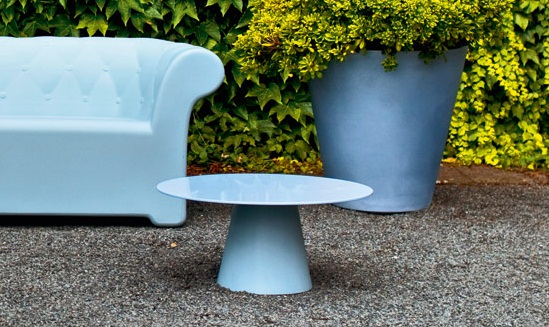 Lou lou low side table h14 serralunga furniture for Serralunga furniture