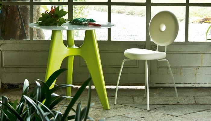 Ping pong pang outdoor chair serralunga furniture for Serralunga furniture