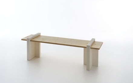 SERRALUNGA FURNITURE | PLAY WOOD OUTDOOR BENCH