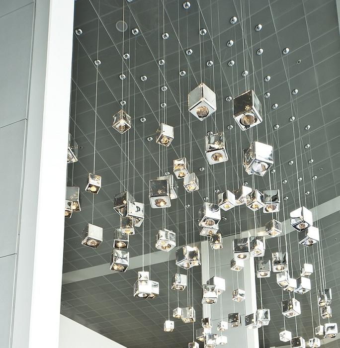 viso lighting. H20 Cube Pendant Lamp Viso Lighting